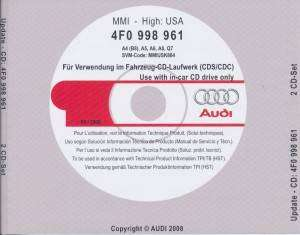 Update Audi MMI 3360 To 4610