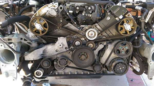 How To Replace Timing Belt On A8 D3