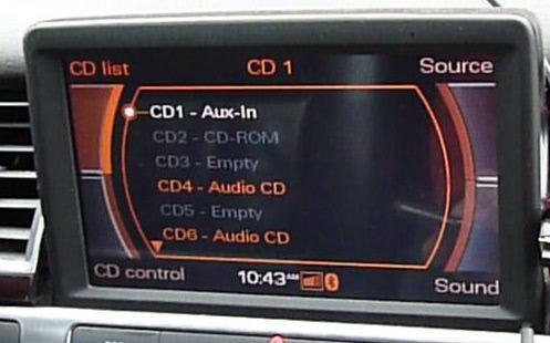 CD Auxiliary Input