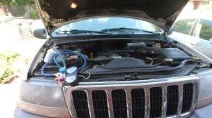 Jeep Cherokee AC charging