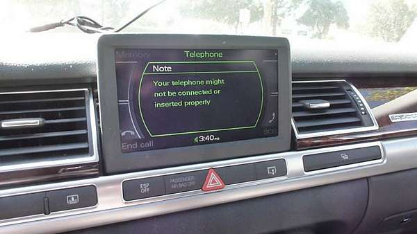 Pair iPhone 6 Bluetooth To Audi MMI 2G On A8 and Q7