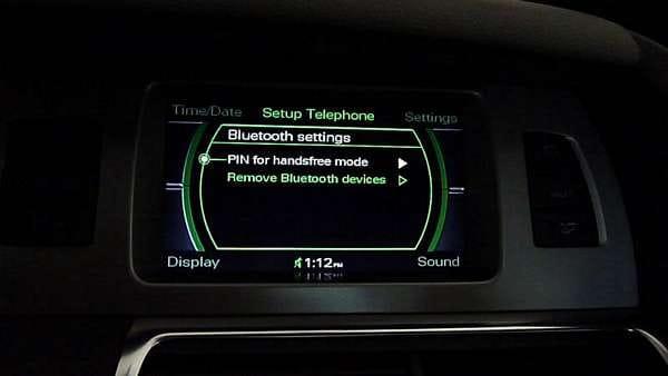 How To Pair LG Optimus F6 To Q7 MMI 2G Bluetooth