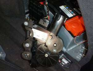 Remove Or Replace A8 Trunk Lid Motor