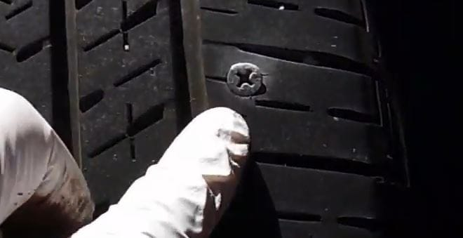 Fix Nail In Tire
