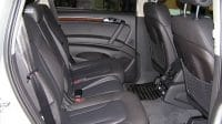 Q7 rear seats