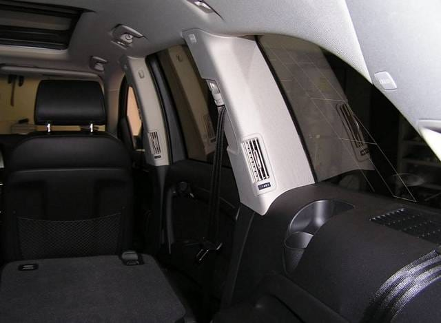Q7 rear vent