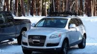 Q7 in the snow