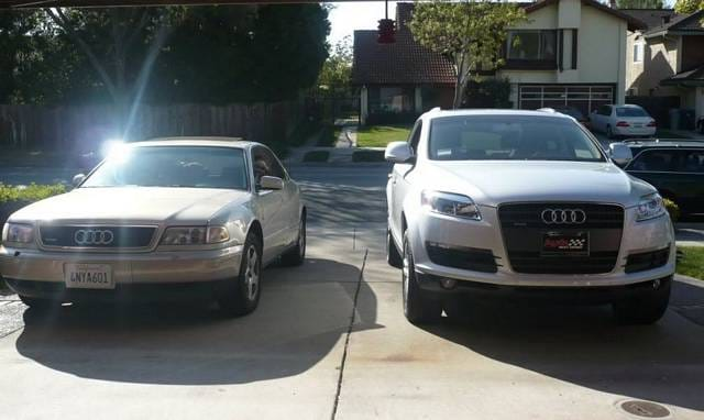 98-A8 and 08-Q7