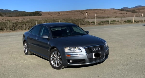 Our A8L D3 On Highway 1