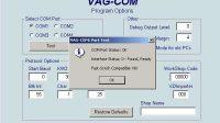 Old Vag-com sofware