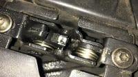 Lubricated hood hinge
