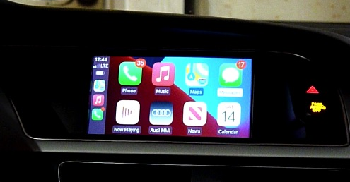 Audi A5 B8 CarPlay