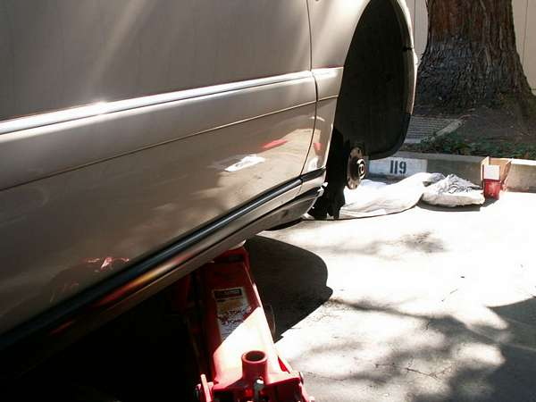 A8 Front Brakes Service