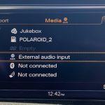 MMI 3G AUX External Audio Mode