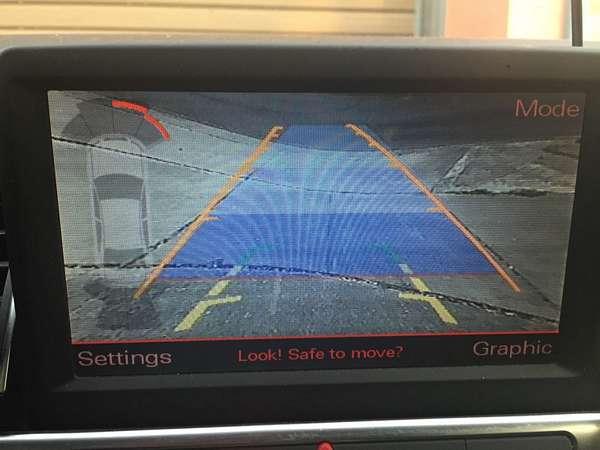 Audi Backup Camera
