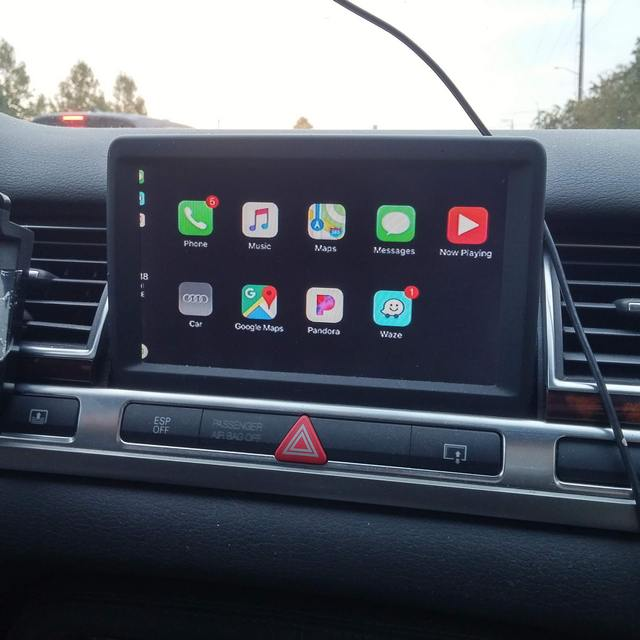 Apple CarPlay For Audi MMI G Audi - Audi car play