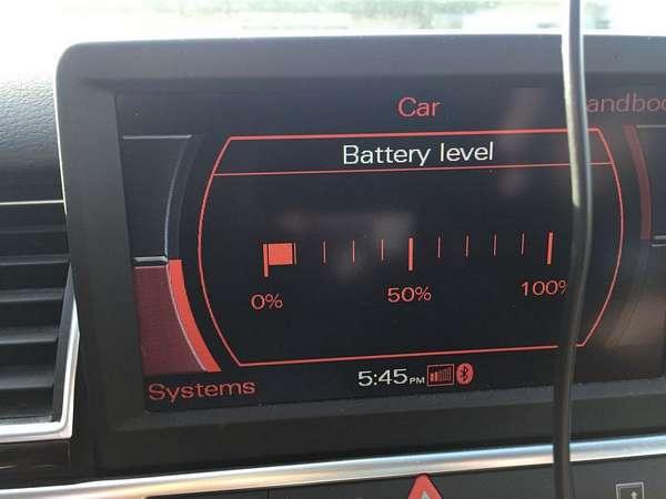 Audi A8 D3 Battery System Failure
