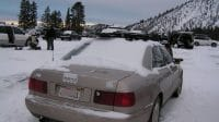 A8 D2 in snow