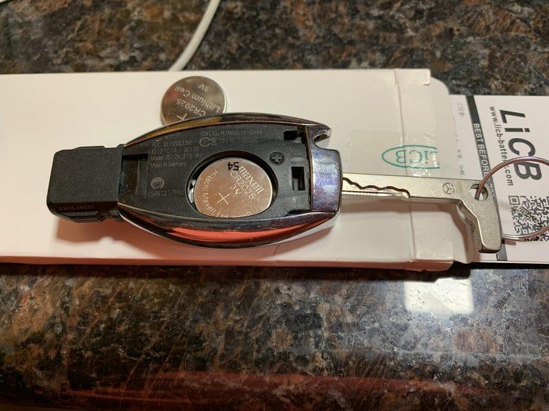 B250e Key Fob Battery