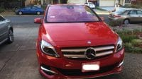 2015 Red B Class Electric