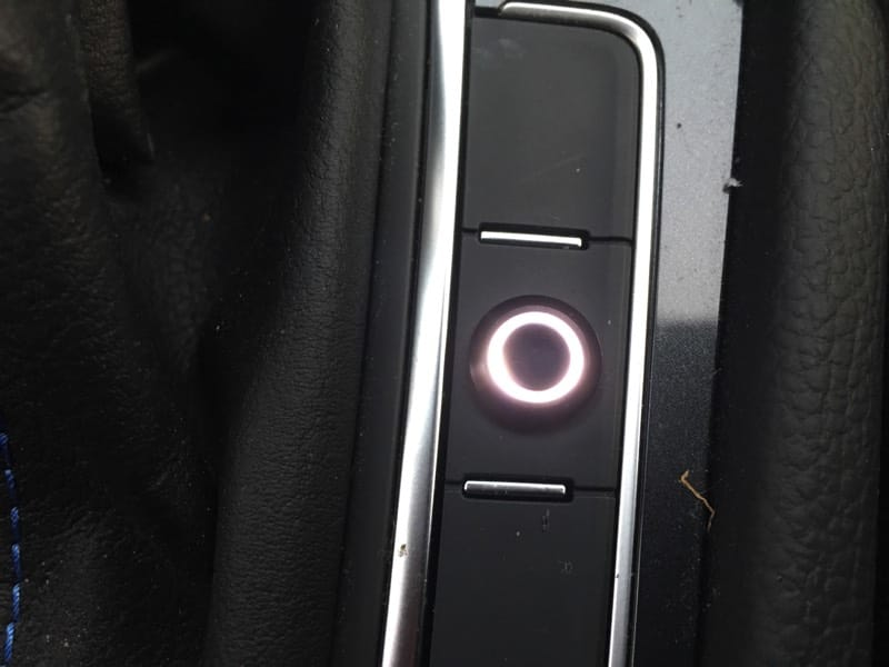 Button LED On