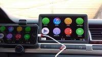 CarPlay iOS on MMI 2G Mirroring