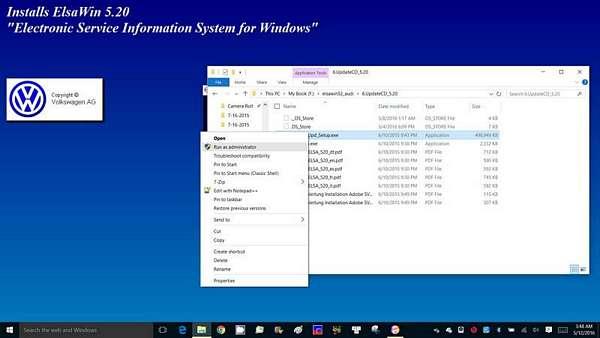 Install ElsaWin 5 x On Windows 8 or Windows 10 - AudiWorld