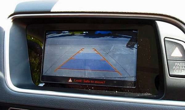 Q5 Aftermarket back up camera resolution