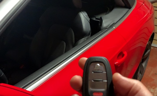 A5 B8 Key Fob Windows Function