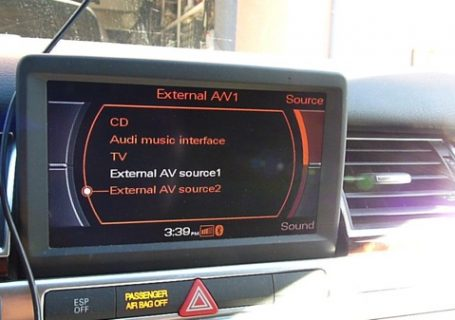Audi MMI 2G Screen