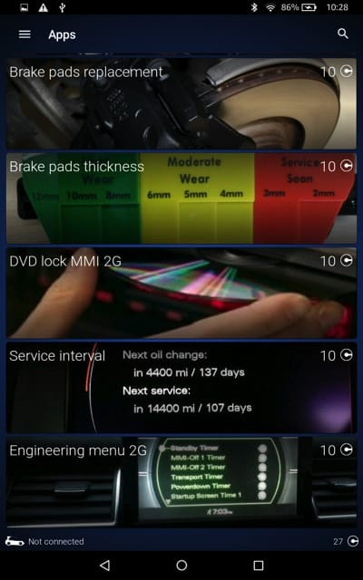 OBDEleven VCDS Alternative For Android – Audi