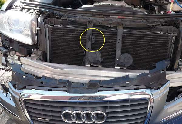 High Pressure Sensor (G65) – AC Blows Hot Air – Audi