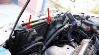 Odyssey Radiator Removal