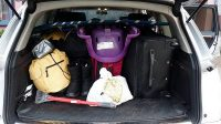 Q7 big trunk with stuff