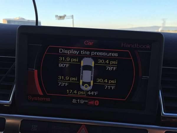 Audi A8 TPMS That Works