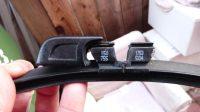 Audi original wiper blade key for A8 D3