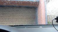 Raining test on windshield A8L