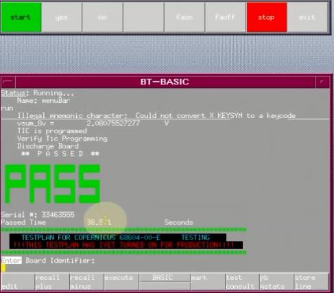 Program TIC MSP430F155IPM On Board