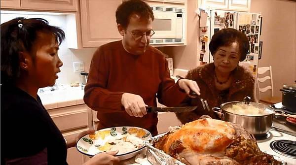 Thanksgiving 2009 At The Burger