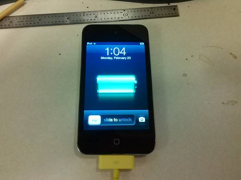 iPod Touch Went Through The Washer – Dead Then Alive