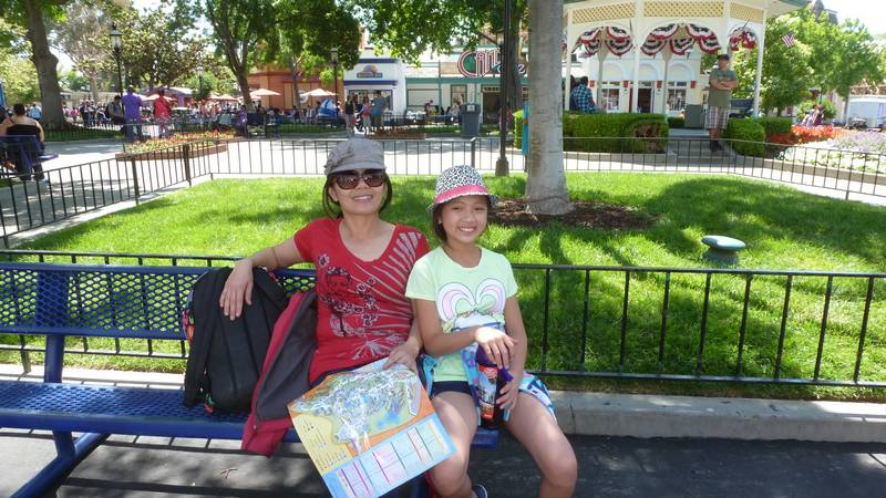 A Hot Day At Great America