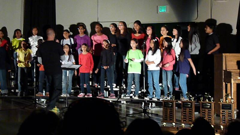 Ardenwood Dragons Sing Humpty Dumpty In Fusd Competition