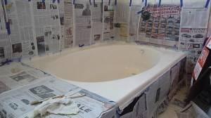 paint tub
