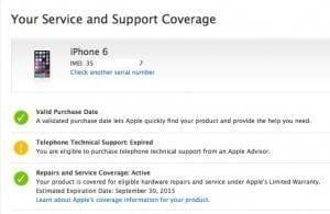 apple IMEI check