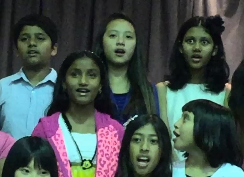 February 23 2016 Choir Performance At Ardenwood Elementary