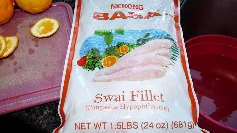 Swai Fish & Orange Dish