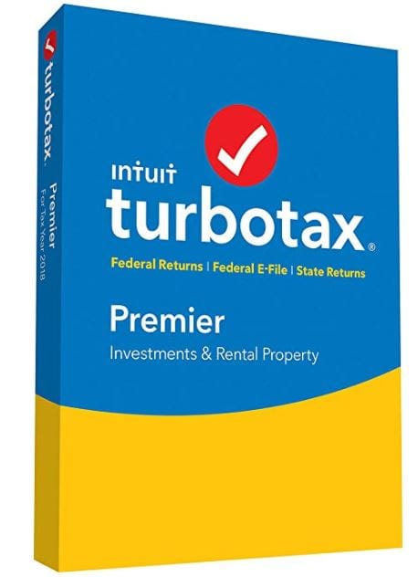 Turbo Tax Premier 2018