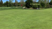 #4 Slopped Green