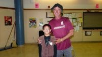 Brandon and Mr. Lambert 5th Grade