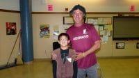 Brandon and Mr. Lambert 5th Grade